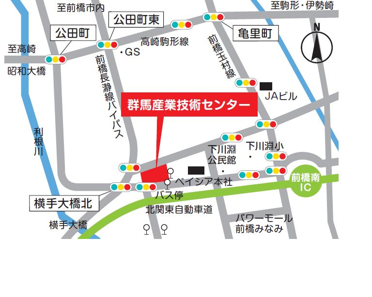 地図データ前橋本所