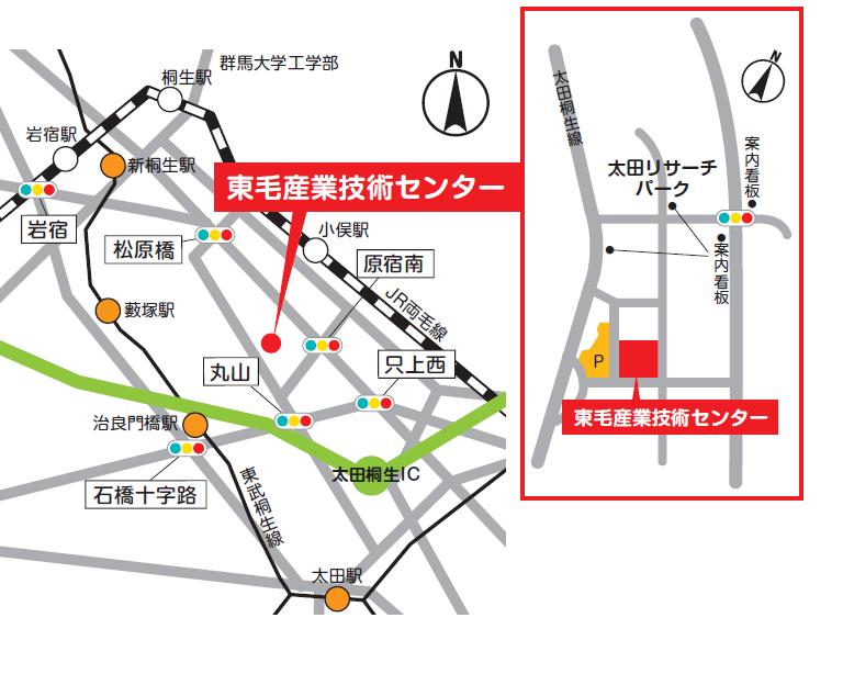地図データ太田支所